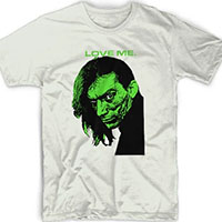 Cramps- Love Me (Bryan Gregory) on a natural ringspun cotton shirt by Rock Roll Repeat