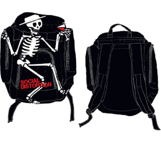 Social Distortion- Skeleton Back Pack