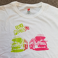 Sex Pistols- Nowhere/Boredom Buses on a white shirt (Sale price!)