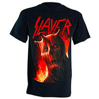 Slayer- Stigmata on a black shirt