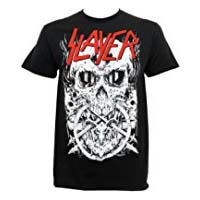 Slayer- Hell Skull on a black shirt (Sale price!)
