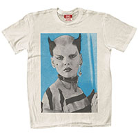 Soo Catwoman on a natural ringspun cotton shirt by Rock Roll Repeat (Guys Or Girls Shirt!)
