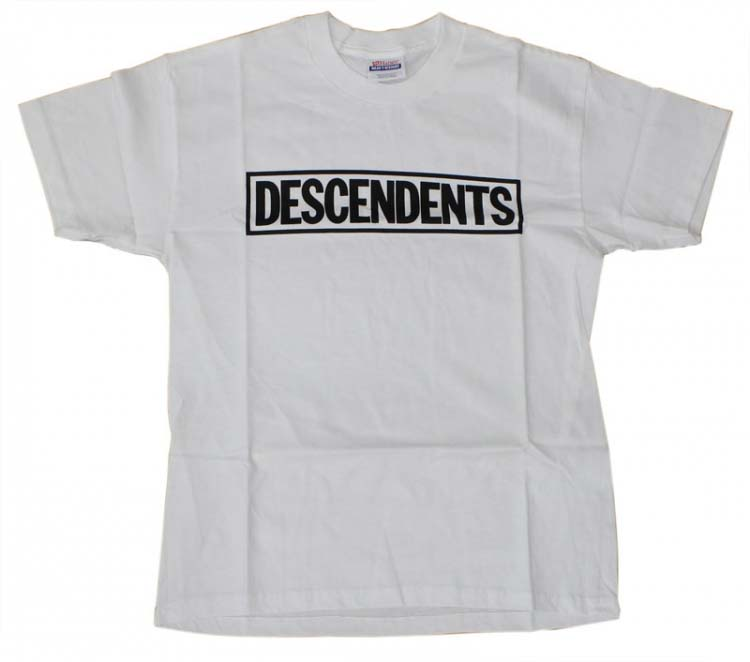 Descendents- Logo on a white shirt