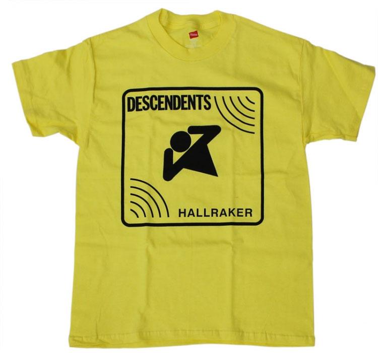Descendents- Hallraker on yellow shirt
