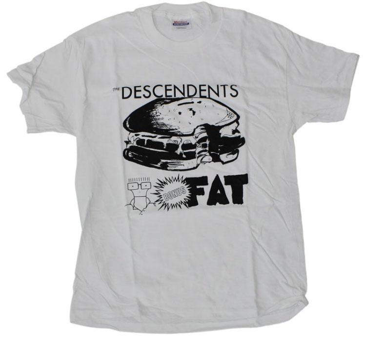 Descendents- Bonus Fat on a white shirt