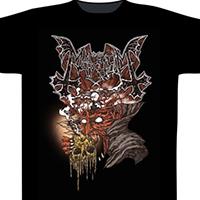 Mayhem- Transylvania on a black shirt (UK Import)