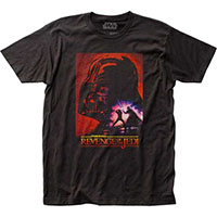 Star Wars- Revenge Of The Jedi on a black ringspun cotton shirt