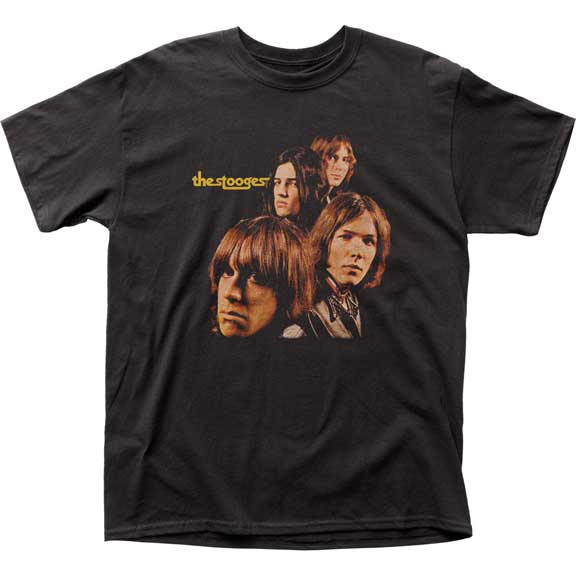 Stooges- First Album Cover on a black shirt