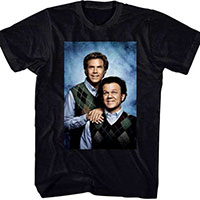 Step Brothers- Sweaters Pic on a black shirt