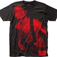 Cro Mags- Harley Flanagan Subway Print on a black ringspun cotton shirt