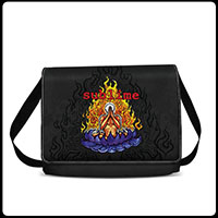 Sublime- Lotus & Flames Messenger Bag