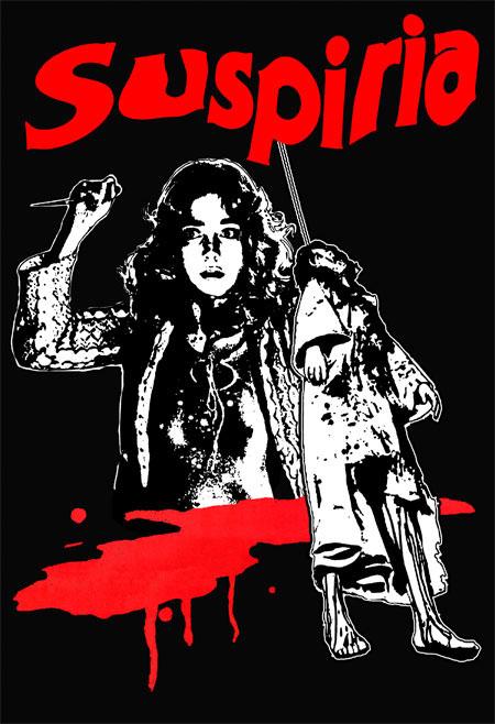 Suspiria- Girls on a black hooded sweatshirt (Sale price!)