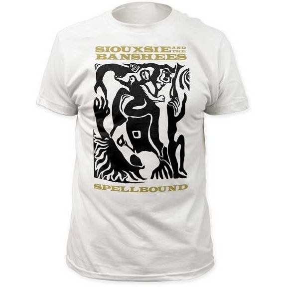 Siouxsie & The Banshees- Spellbound on a white ringspun cotton shirt