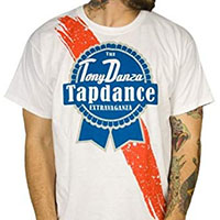 Tony Danza Tapdance Extravaganza- Pabst Logo on a white shirt (Sale price!)