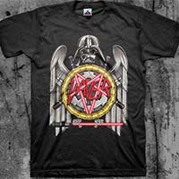 Star Wars/Metal Mashup- Darth Slayer on a black shirt (Slayer)