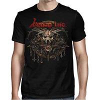 Venom Inc- I Kneel To No God on front & back on a black shirt