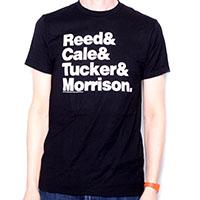 Velvet Underground- Names on a black shirt (Sale price!)