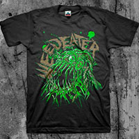 Weedeater- Fly Trap on a black shirt