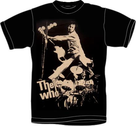 Who- Pete Live on a black shirt (Sale price!)