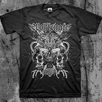 Wolfbrigade- Seldon on a black shirt