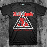 Wolfbrigade- The Sound Of Thunder on a black shirt