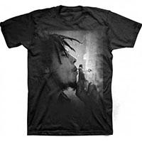 Bob Marley- Smoking on a black shirt