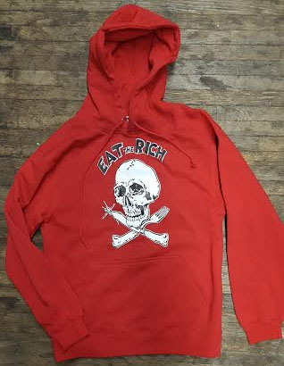 Eat The Rich hooded sweatshirt