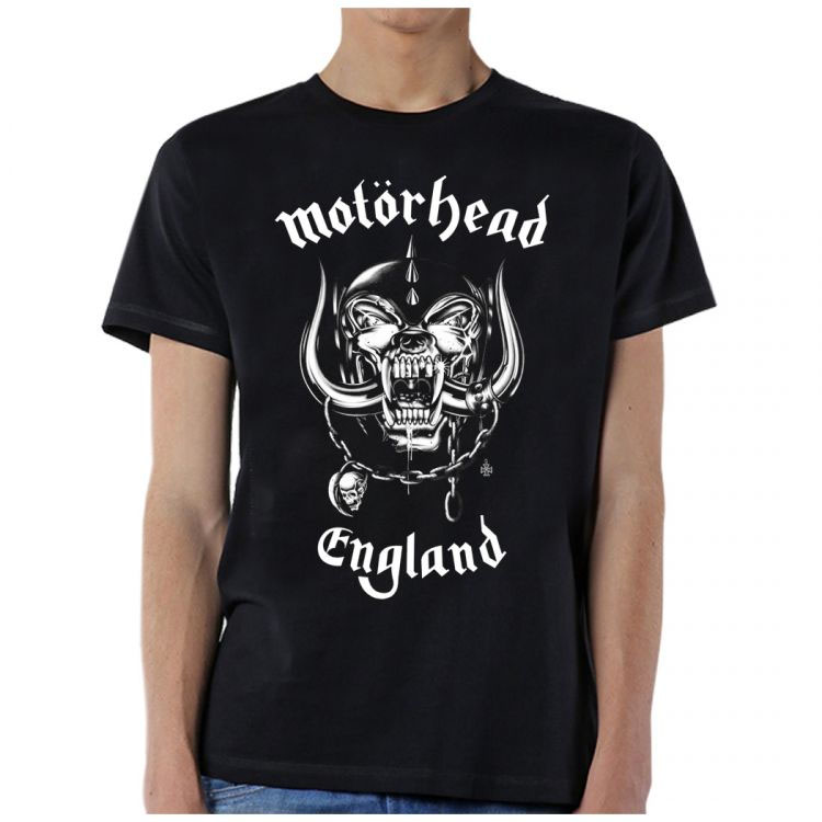 Motorhead- England on a black shirt (Sale price!)