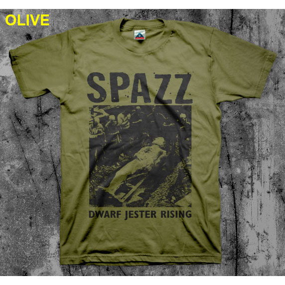 Spazz- Dwarf Jester Rising shirt (Various Color Ts)