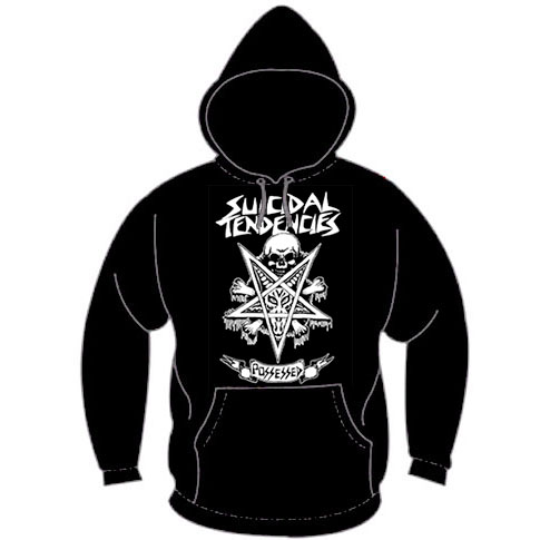 Suicidal Tendencies- Possessed on a black hooded sweatshirt (Sale price!)
