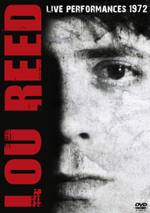 Lou Reed- Live Performances 1972 DVD (Sale price!)