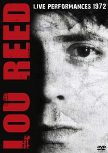 Lou Reed- Live Performances 1972 DVD (Sale price!)