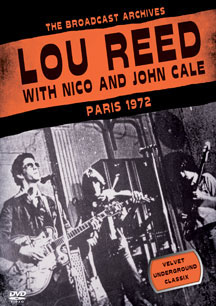 Lou Reed With Nico & John Cale- Paris 1972 DVD (Velvet Underground) (Sale price!)