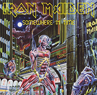 Iron Maiden- Somewhere In Time LP (180gram Vinyl)