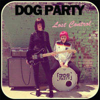 Dog Party- Lost Control LP (Split Blue & Grey Vinyl)