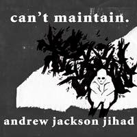Andrew Jackson Jihad- Can't Maintain LP (180gram Vinyl)