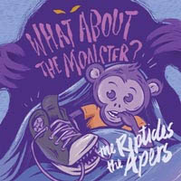 "Apers / Riptides- What About The Monster? 7"" (Color Vinyl) (Sale price!)"
