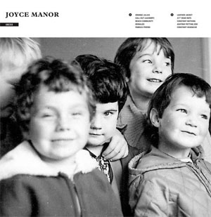 Joyce Manor- S/T LP (180gram Clear Red With Black Smoke Vinyl)
