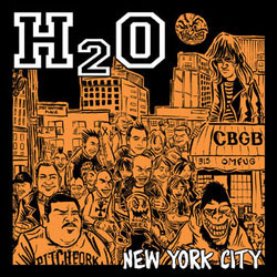 "H2O- New York City 7"" (Sale price!)"