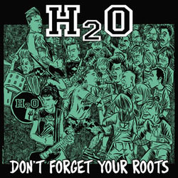 H2O- Don't Forget Your Roots LP (Seafoam Green Vinyl)