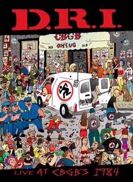 DRI- Live At CBGBs 1984 LP