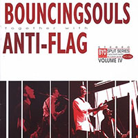 Anti Flag / Bouncing Souls- BYO Split Series Vol 4 LP