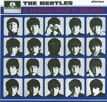 Beatles- A Hard Day's Night LP (Remastered, 180g Vinyl)