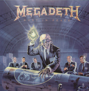 Megadeth- Rust In Peace LP (180gram Vinyl)
