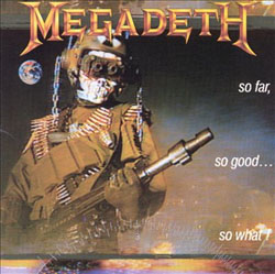 Megadeth- So Far So Good So What? LP (180gram Vinyl)