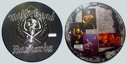 Motorhead- Bastards LP (Pic Disc)