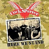 Cock Sparrer- Here We Stand LP (180gram Color Vinyl, Comes With CD & DVD!)