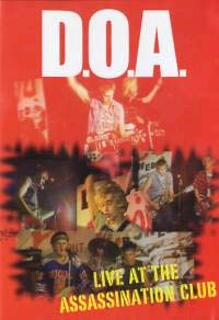 DOA- Positively DOA: Live At The Assassination Club DVD (Sale price!)