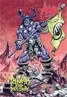 Hirax- Thrash And Destroy DVD & CD (Sale price!)