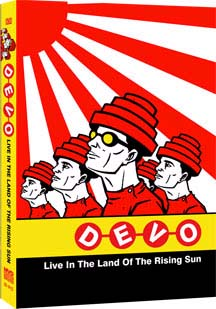 Devo- Live In The Land Of The Rising Sun 2003 DVD (Sale price!)